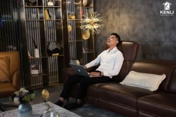 Sofa da thật FE10 văng 3 DC (L2260xW1090xH780/1080)