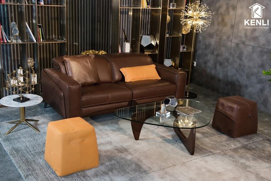 Sofa da thật FE10 văng 23