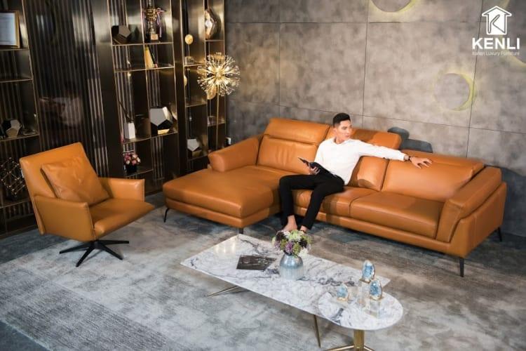Sofa F021 văng đơn phù hợp với mọi không gian cao cấp