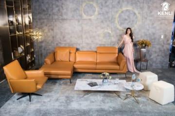 Sofa da thật F021 văng L (L2920xW1730xH750);