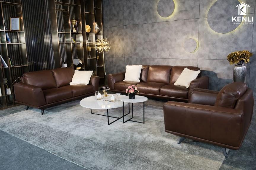 Sofa da thật MD F019 văng 25