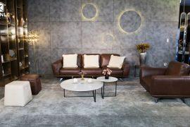 Sofa da thật MD F019 văng L3 (L2920xW1600xH860)