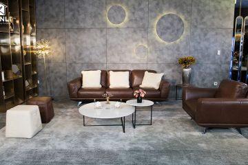 Sofa da thật MD F019 văng L3
