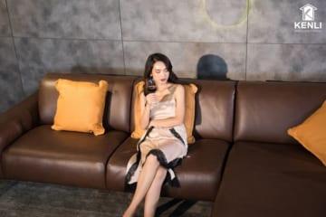 Sofa da thật Sissy E119 văng đơn (L1090xW1060xH820)