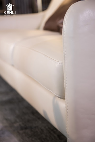 Sofa da thật E130 full bộ5