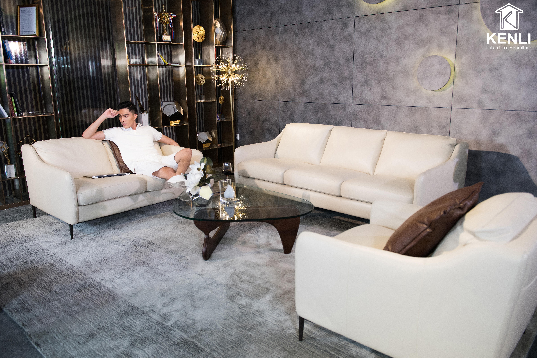 Sofa da thật E130 văng 3 (L2000xW1000xH810)9