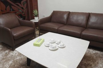 Sofa E130, bàn trà BaBa – Chị Loan, Tông Đản – Hà Nội