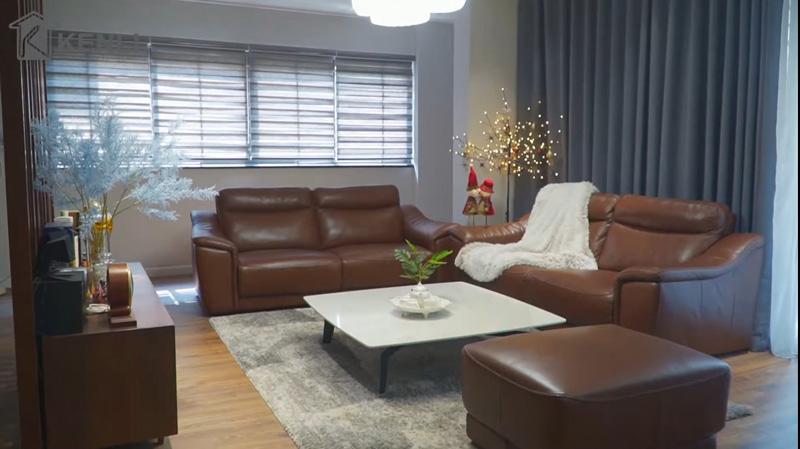 Sofa EE27, bàn BABA và Concorde Grace tại nhà chị Hà