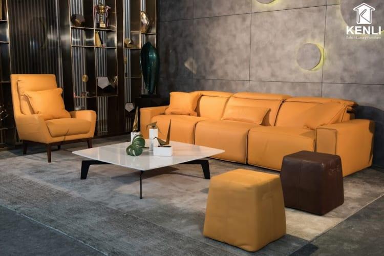 Full bộ sofa EE87 văng 3 văng đơn