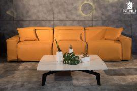 Sofa da thật EE87 văng 3 (L3080xW1140xH860/1080)