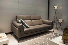 Sofa da thật F021 văng 2 (L1700xW1080xH750)