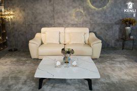 Sofa da thật EE27 văng 2 (L2260xW1000xH920)