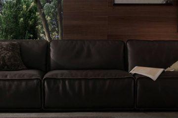 Vẻ đẹp ấn tượng của sofa da thật cao cấp