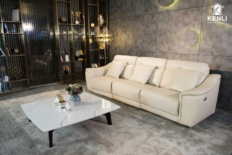 Sofa EE27 văng 3 có động cơ với thiết kế tinh tế