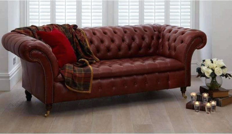 sofa da cổ điển