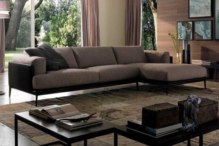 Sofa da Edo văng L với thiết kế vô cùng hoàn hảo