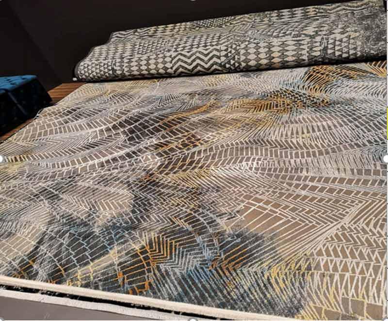 Thảm sofa sợi Viscose T10006