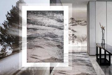 Thảm sofa sợi Polyester T10009