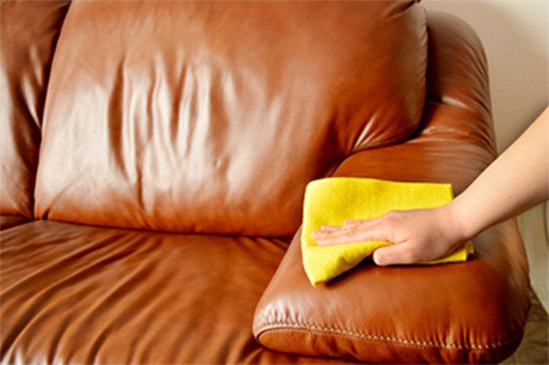 vệ sinh sofa da thật hiệu quả