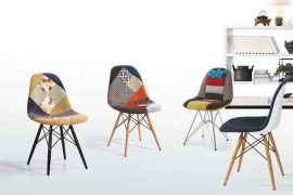 Ghế Eames Side Patchwork