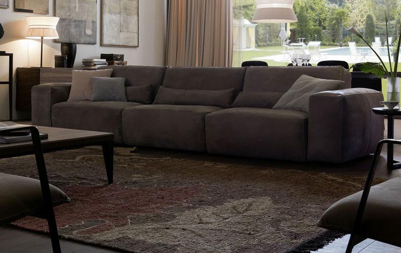 Sofa da thật Host