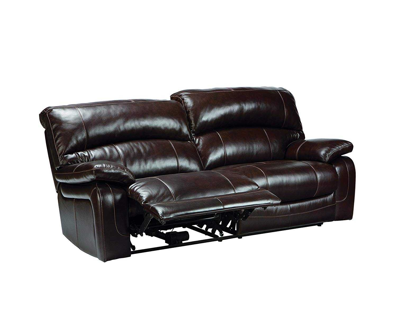 sofa da thật hiện đại