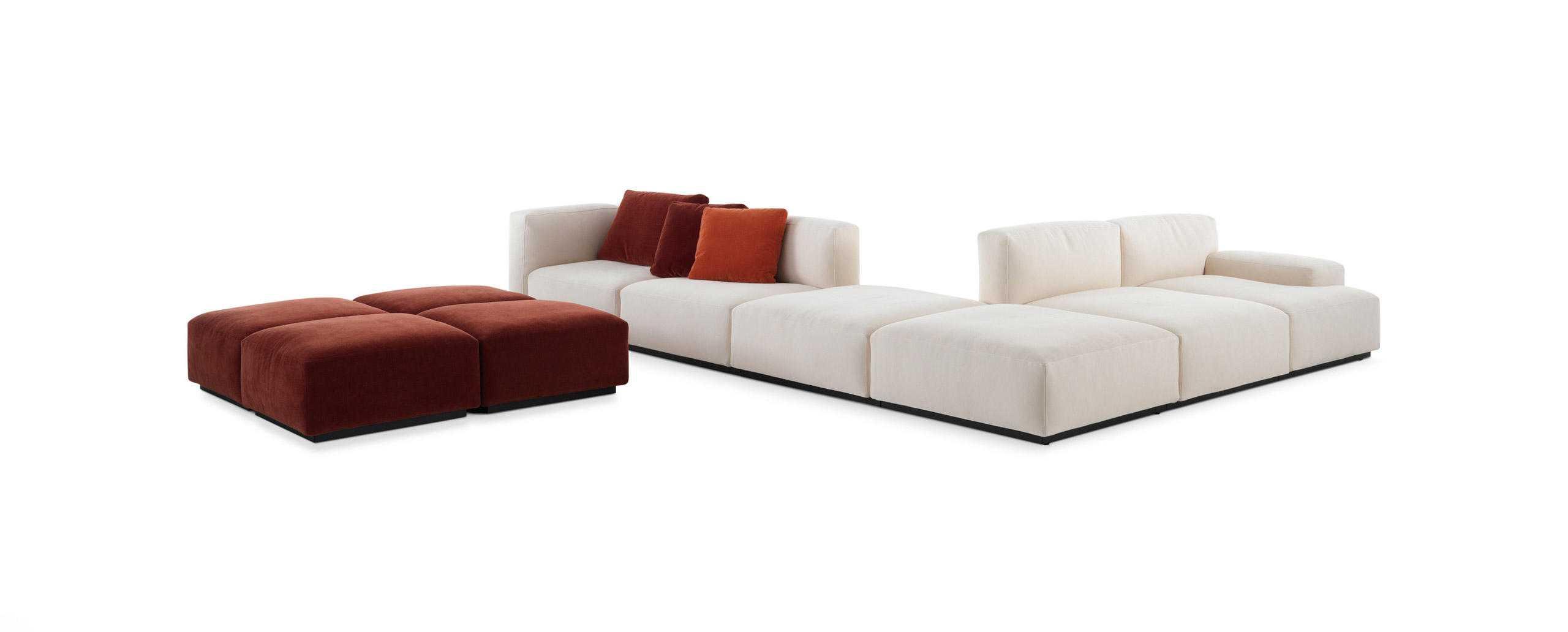 sofa nhập khẩu Itali trắng