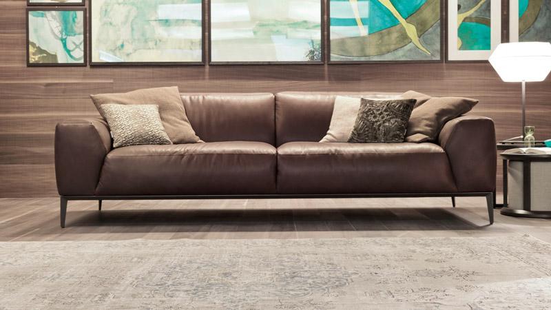 sofa da thật xcomfort