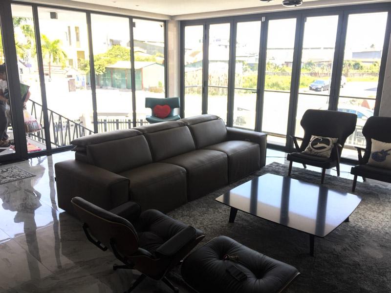 sofa da ee87 nhà khách kenli