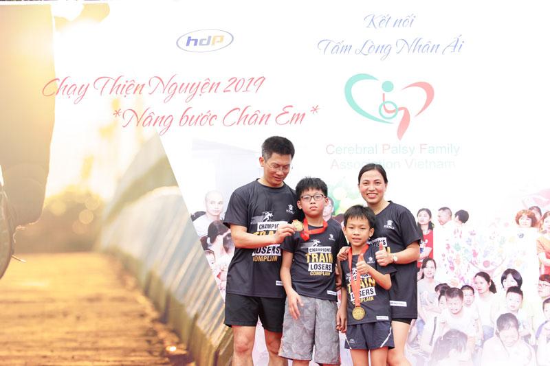 giải chạy dành cho gia đình