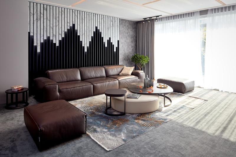 Sofa da thật Chateau d'Ax