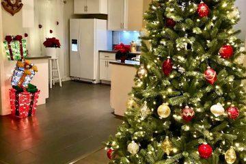 Hướng dẫn trang trí phòng bếp ấm áp mùa giáng sinh