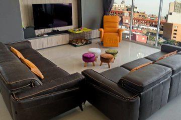 Sofa da FE10 – Chị My tại An Phú