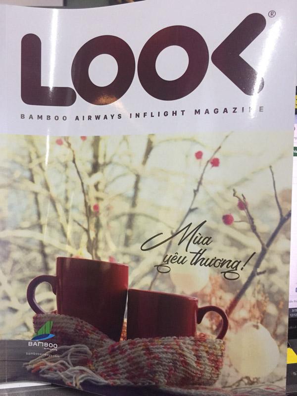 kenli trên tạp chí look