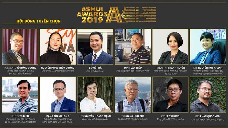 hội đồng tuyển chọn ashui awards