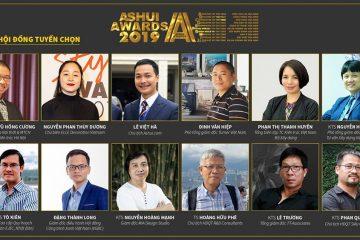 Thông tin hội đồng tuyển chọn Ashui Awards 2019