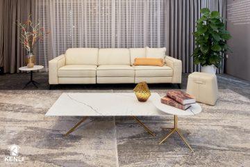 Sofa da thật FE10 văng 3;