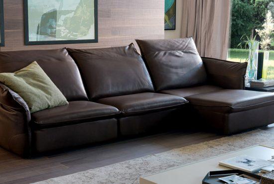 Sofa da thật Italia Softy văng 3