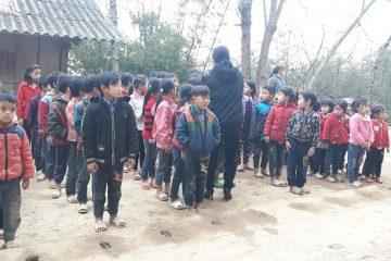 Tiền trạm ở xã Nà Khuổi, Cao Bằng