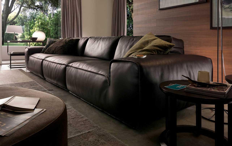 Sofa da phòng khách Avenue