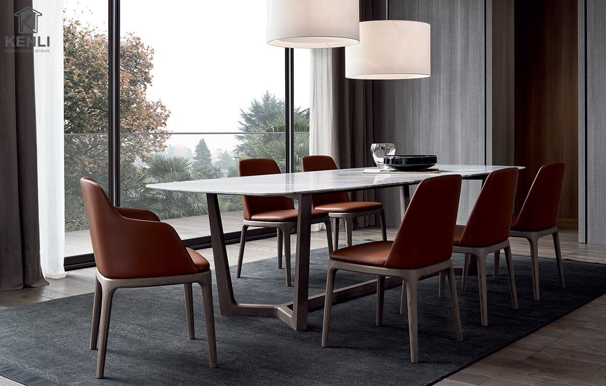 Những mẫu bàn ăn hiện đại cho phòng bếp sang trọng