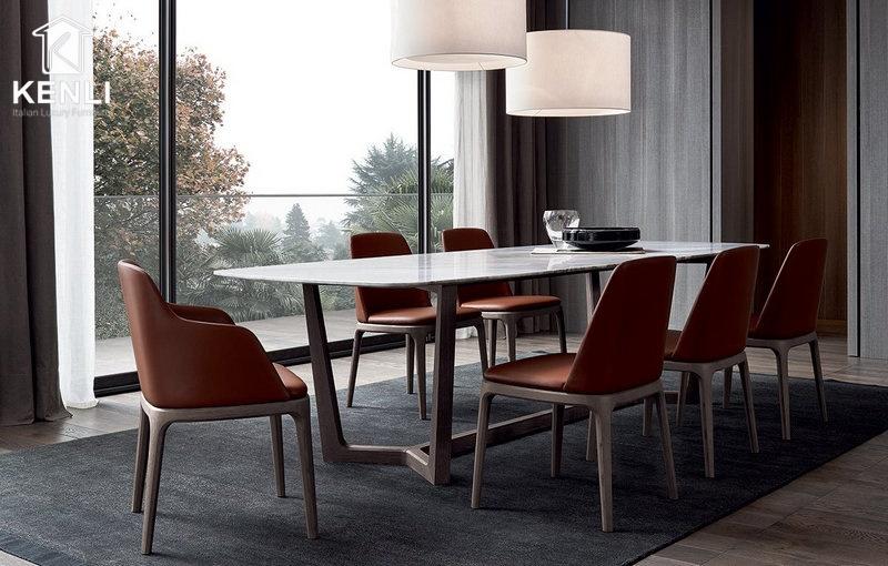 Bộ bàn ăn đẹp 4 ghế Concorde