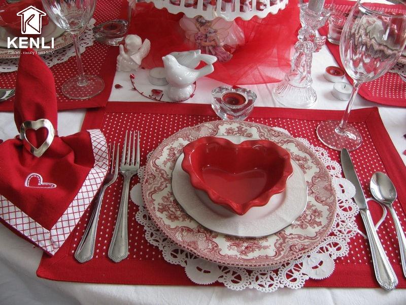 Trang trí không gian ngày Valentine