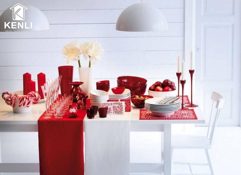 Bàn ghế ăn đẹp ngày Valentine 2