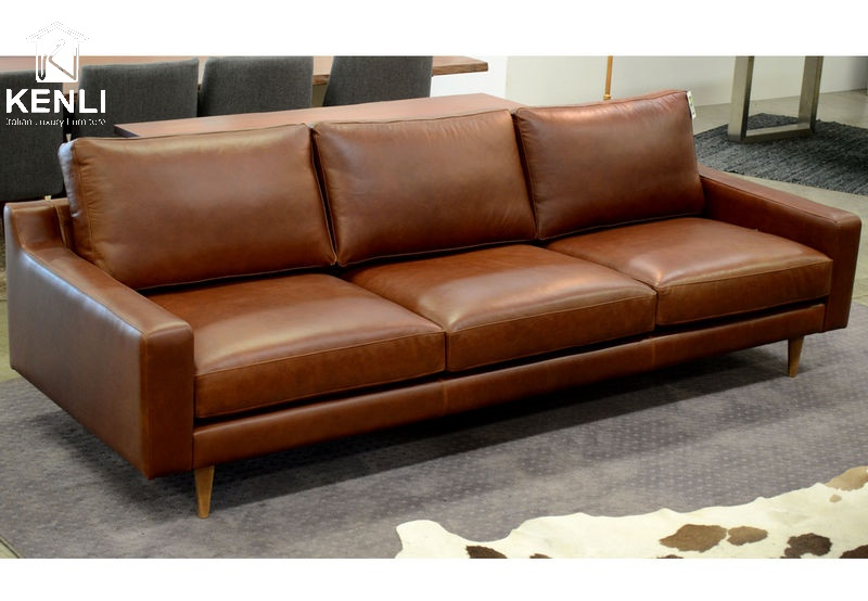 Ghế sofa Da pull up aniline