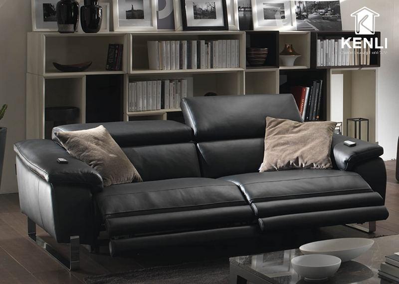 Sofa da thật cao cấp từ Chateau d'Ax