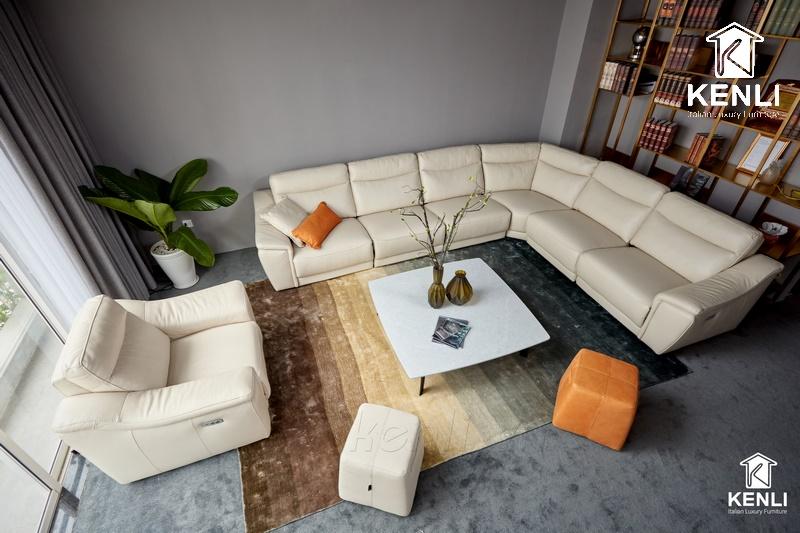 Sofa góc cao cấp từ M&D