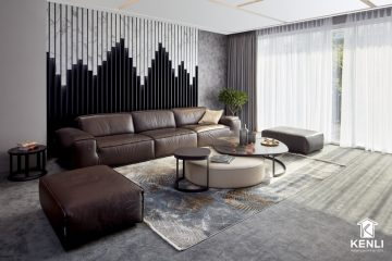 12 mẫu ghế sofa màu đen hứa hẹn gây bão trong năm 2020