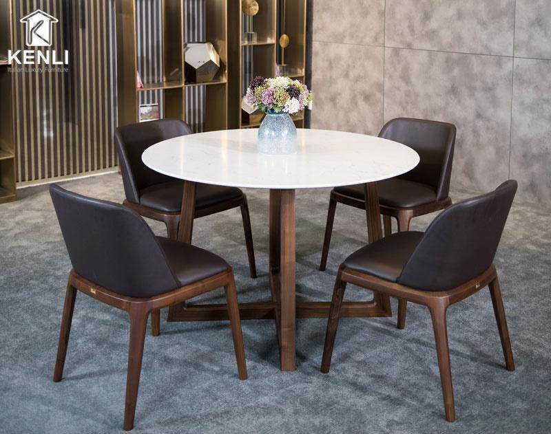 Bộ bàn ăn Gaia 4 ghế