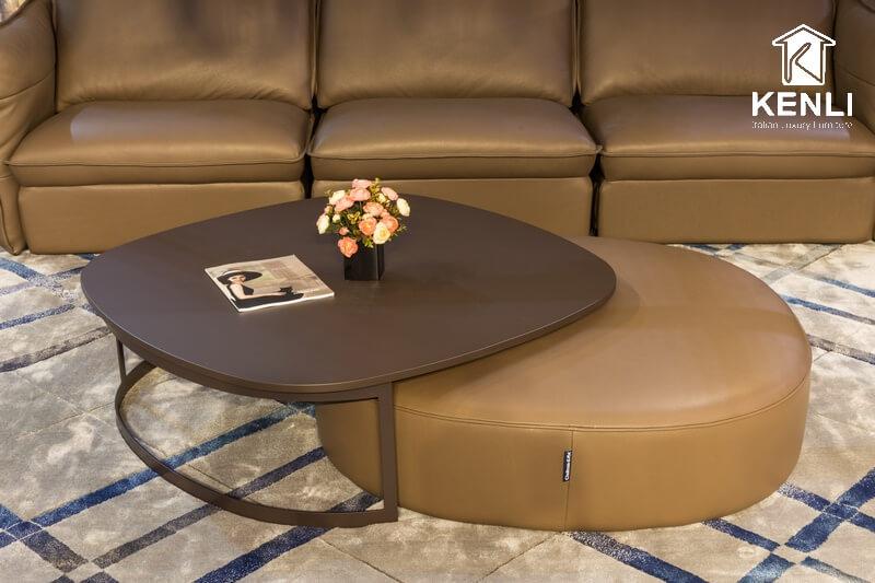 BST bàn trà sofa phong cách Ý mới nhất tại Kenli